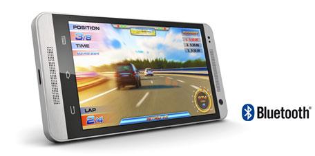 스마트폰 게임을 고급 스테레오 오디오 시스템에서 무선으로 즐길 수 있습니다. SLASH-R 블루투스 오디오 리시버