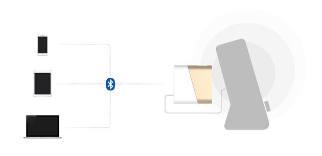 블루투스 오디오 리시버 SLASH-R3 용용1 스마트기기와 함께 PC, 앰프 등의 기기에 유선 연결이 가능합니다