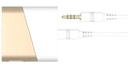 SLASH-R3는 3.5mm 타입으로 만들어진 제품으로 별도 확장 케이블 없이 바로 연결 가능한 제품입니다
