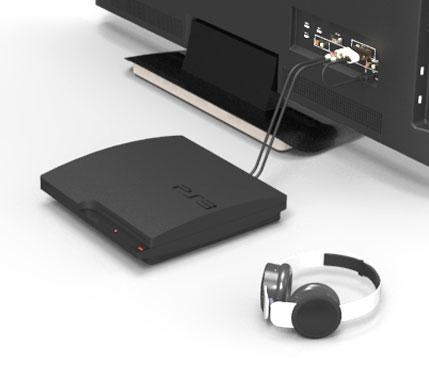 플레이스테이션, MP3, CDP를 블루투스 헤드폰/스피커와 연결합니다