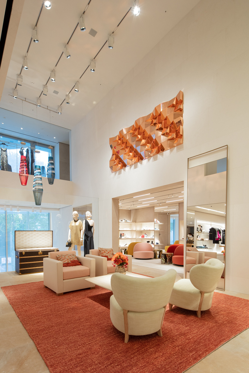 청담동 Louis Vuitton Maison Seoul